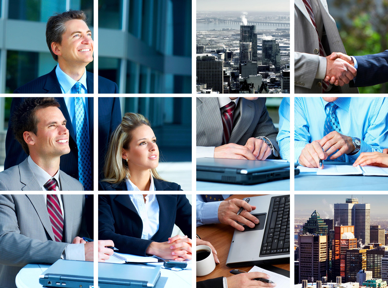 Collage ejecutivos