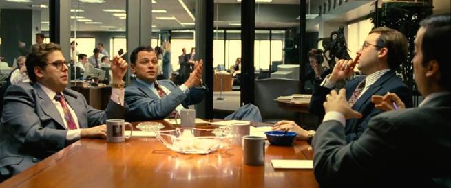 Semejanzas de la fraqnuicia con el Lobo de Wall Street